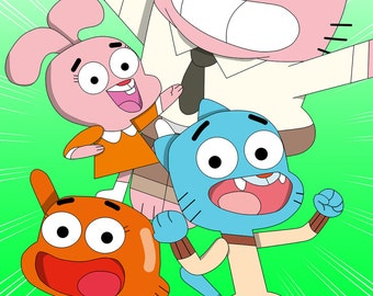 The Amazing World of Gumball (Print)