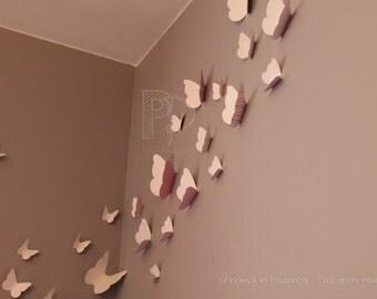 Decorative butterflies for nursery, wall decor, butterfly, kids bedroom, nursery