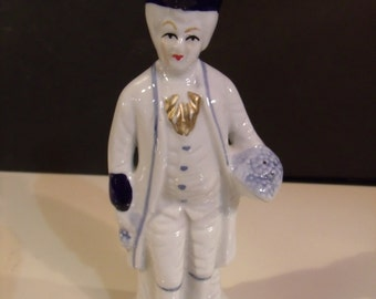 Vintage Victorian Style glazed Figurine