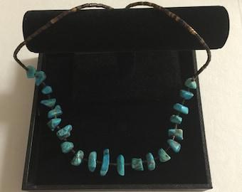 Vintage Turquoise Heishi