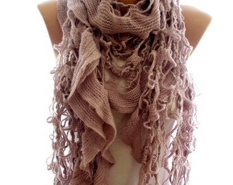 Glitter Oatmeal scarf, winter scarf, scarves for women, cozy scarf, trendy scarf