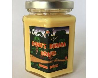Donkey Kong - Kong's Banana Hoard 8oz Soy Candle