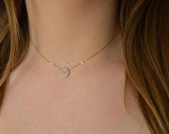 Collar to customize medal gold filled * 14 k rose gold