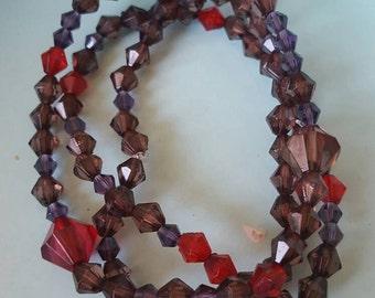 Vintage style bead bracelets