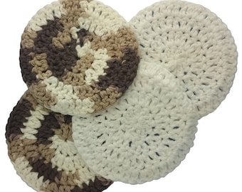 100% Cotton Facial Doilies/Face Scrubbies