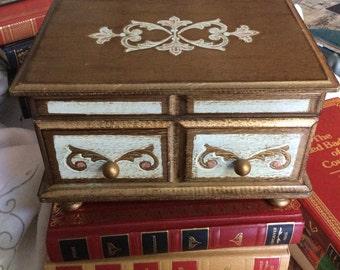 Farrington Florentine Musical Jewelry Box