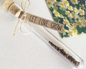 Let Love Grow Plant Seed DIY Favour Kit Pk20