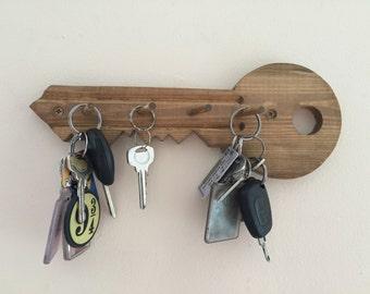 Key Shaped Key Rack