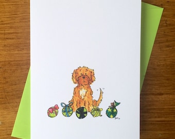3pack - Marlo the Cavoode Greeting Card