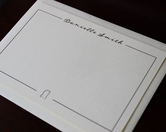 Personalized Note Card with State