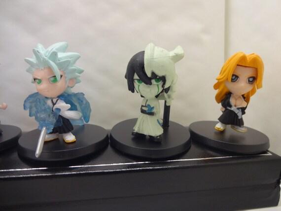 Mister a gift bleach manga anime set of 6 plastic cake for Anime beyblade cake topper decoration set