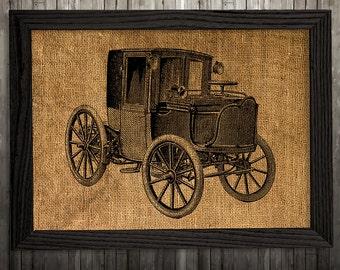 Victorian print Chariot poster Vintage decor Antique print BLP944