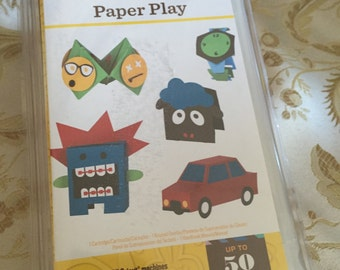 30%OFF SALE New Cricut Paper Play Cartridge