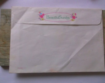 RARE Kutsuwa Beautiful Sunday Never Used Enveloppe