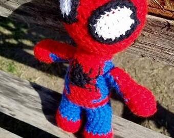 Spiderman amigurumi | Crochet spiderman | spiderman birthday | Spiderman doll | Spiderman plush | Spiderman gift| Spiderman birthday