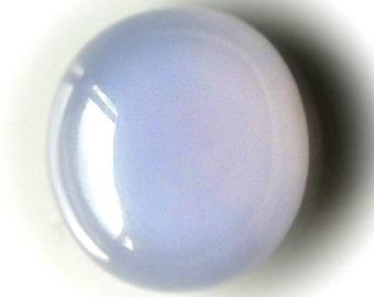 11.49ct Pastel Mauve Blue Chalcedony Cabochon Gem
