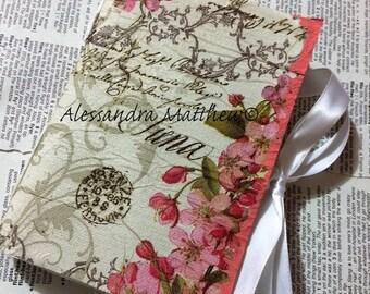 Mini Art Journal / Handmade art Journal / Watercolor paper
