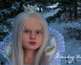 Amazing enchantress reborn toddler Candoris Gabriella doll kit by Reva Schick