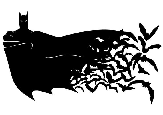 Svg Batman Instant Download Batman Silhouette File Batman