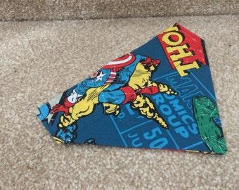 Avengers dog bandana