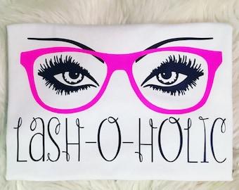 Lash-O-Holic shirt