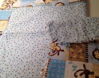 Baby blanket & burp cloth