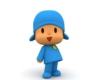 Pocoyo and other characters Party Prop, Cut-outs, kids characters