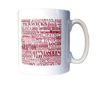 Forgotten haunts mugs