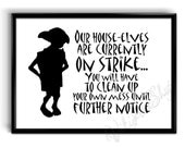 Buy Harry Potter - Dobby - House Elves On Strike - Poster/Art - Unframed Print at Amazon UK. Free delivery on eligible orders.