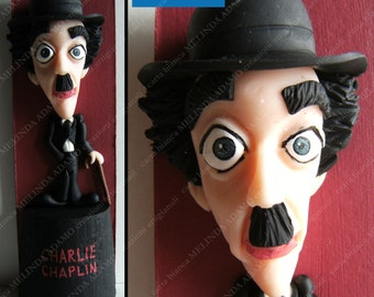 CARICATURE OF CHARLIE CHAPLIN