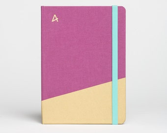 Hardcover notepad GLITTER