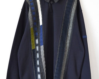 Carlo Colucci Vintage Navy Sweater size: L