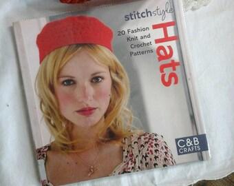 hat knitting book~hat crochet book~hat crochet patterns~hat knitting patterns~knitting book~crochet book~knitting patterns~crochet patterns