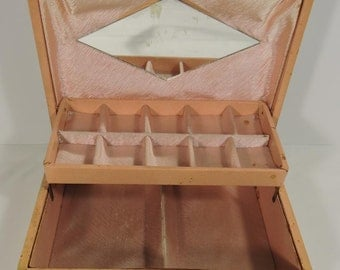Art Craft Manufacturing Jewelry Box Vintage