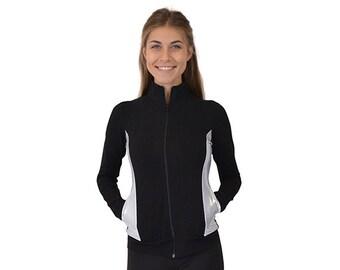 Women's Cadet Silver Slit Warmup Jacket