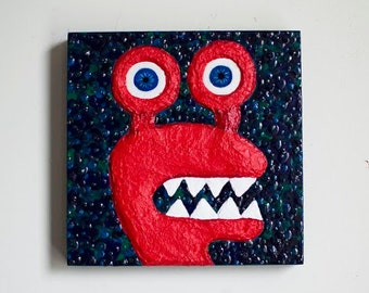 Monster Painting by Kendra Sartorelli (We Need Monsters #14)