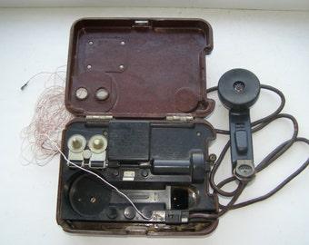 Soviet military phone TA 57. Soviet phone. Soviet army telephone TA 57. Vintage 1960s. Karbolit body. Soviet Military. Vintage military