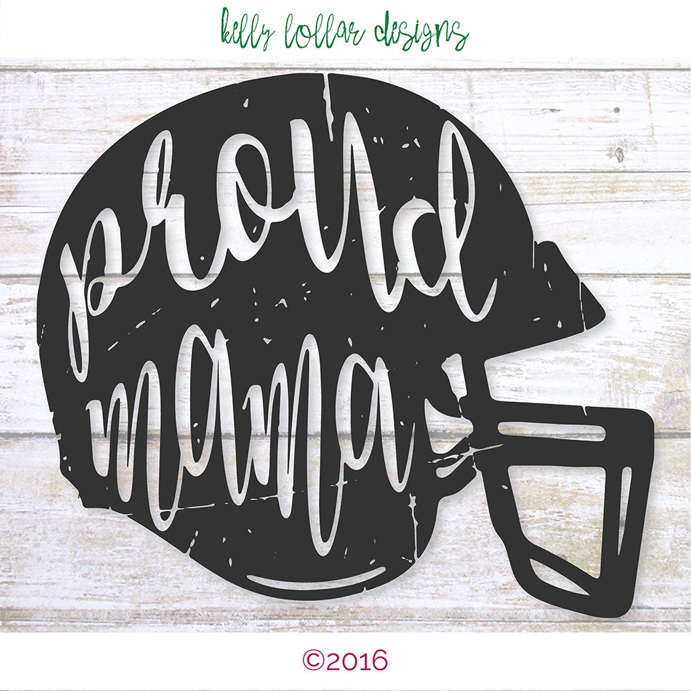 2 Proud Mama Svgs Football Mom Svg By Kellylollardesigns