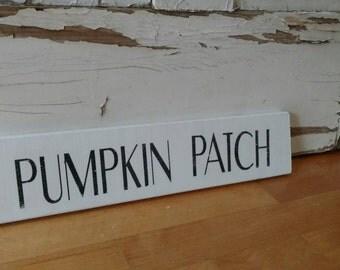 Fall Wood Sign - Pumpkin Patch Sign - Fall Sign - Farmhouse Sign - Farmhouse Fall Sign - Fall Decor - Cotton Blossom Stuido
