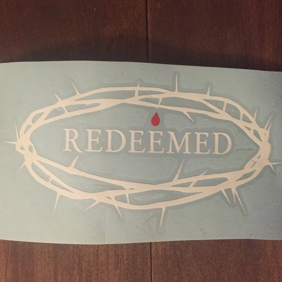 Crown Of Thorns Redeemed By The Blood Gods Love
