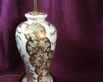 Ceramic Japanese Style Table Lamp from Princess House