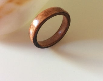 Wooden ring of tropical Tineo