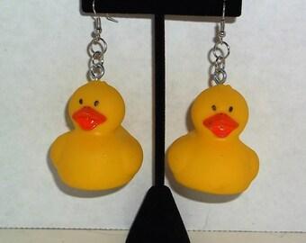 Rubber Ducky earrings!