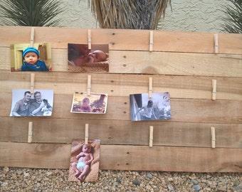 Large Horizontal Fence Photo Display