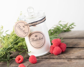 Hand made Soy Wax Candle - Jam Tart