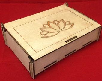 Laser Cut Wooden Box