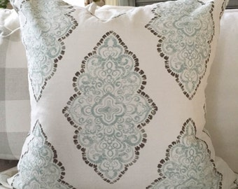 Pillow cover, Premier Prints, Monroe Slub, Snowy
