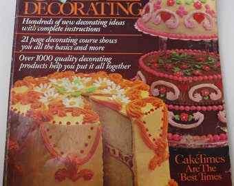 1981 Wilton Cake Decorating Yearbook,