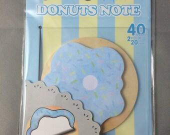 Donut Sticky Note Pad