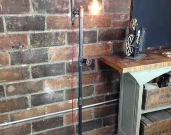 Edison SteamPunk Floor Lamp